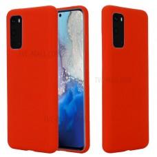 OEM Back Cover Case Σιλικόνη Για Samsung S20 Προστασία Κινητό Κόκκινο