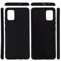 OEM Hard Back Cover Case Σκληρή Σιλικόνη Θήκη Για Samsung Galaxy A31 Μαύρο