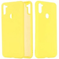 OEM Hard Back Cover Case Σκληρή Σιλικόνη Θήκη Για Samsung Galaxy A11 ΧΡΥΣΟ
