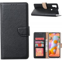 Θήκη Book Style με Βάση Στήριξης για Samsung (Galaxy A11) Μαύρο