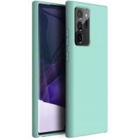 OEM Hard Back Cover Case Σκληρή Σιλικόνη Θήκη Για Samsung Note 20 Ultra Sky Blue