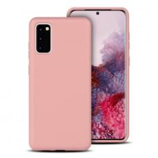 OEM Back Cover Case Σιλικόνη Για Samsung S20 Προστασία Κινητό ΑΝΟΙΧΤΟ ΡΟΖΕ