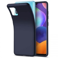 OEM Back Θήκη Σιλικόνης Για Samsung A41 Προστασία Κινητό -Blue