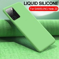 OEM Hard Back Cover Case Σκληρή Σιλικόνη Θήκη Για Samsung Note 20 Ultra Πράσινο