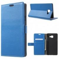 Θήκη Book Style με Βάση Στήριξης για Samsung (Galaxy A5 2016) - (ΜΠΛΕ)