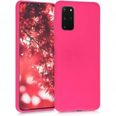 OEM Back Cover Case Σιλικόνη Για Samsung S20 PLUS Προστασία Κινητό - Φούξια