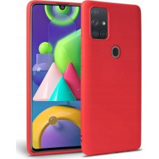OEM Back Cover Case Σιλικόνη Για Samsung A21S Προστασία Κινητό Κόκκινο