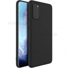 OEM Back Cover Case Σιλικόνη Για Samsung S20 FE Προστασία Κινητό Μαύρο