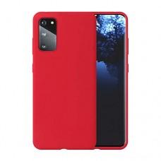 OEM Back Cover Case Σιλικόνη Για Samsung S20 Προστασία Κινητό - Κερασί
