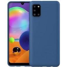 OEM Back Cover Case Σιλικόνη Για Samsung A31 Προστασία Κινητό -ΜΠΛΕ
