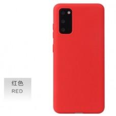 OEM Back Cover Case Σιλικόνη Για Samsung S20 FE Προστασία Κινητό Κόκκινο