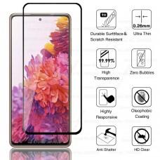 Tempered Glass 9H Για Samsung S20 FE Full Glue Προστατευτικό Οθόνης - Μαύρο