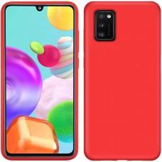 OEM Back Cover Case Σιλικόνη Για Samsung A41 Προστασία Κινητό-  Κόκκινο