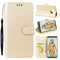 Θήκη Book Style με Βάση Στήριξης για Samsung (Galaxy Note 9  ) - (ΧΡΥΣΟ)