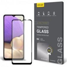 Tempered Glass 9H Για Samsung A32 Full Glue Προστατευτικό Οθόνης - Μαύρο