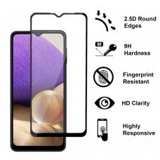 Tempered Glass 9H Για Samsung A32 4G Full Glue Προστατευτικό Οθόνης - Μαύρο
