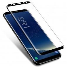 Tempered Glass 9H Για Samsung S9 PLUS Full Glue Προστατευτικό Οθόνης - Μαύρο