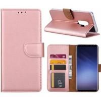 Θήκη Book Style με Βάση Στήριξης για Samsung (Galaxy S9 + ) - ΑΝΟΙΧΤΟ ΡΟΖΕ