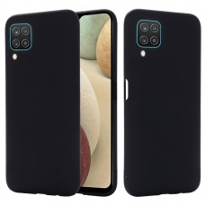OEM Back Cover Case Σιλικόνη Για Samsung A12 Προστασία Κινητό- Μαύρο