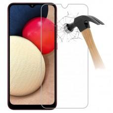 Tempered Glass Για Samsung A 02S Glue Προστατευτικό Οθόνης - διαφανής