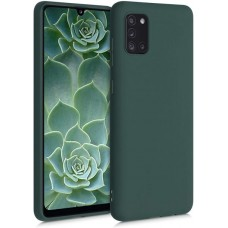 OEM Back Cover Case Σιλικόνη Για Samsung A31 Προστασία Κινητό -Πράσινο
