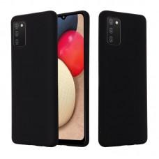 OEM Back Cover Case Σιλικόνη Για Samsung A 02S Προστασία Κινητό Μαύρο