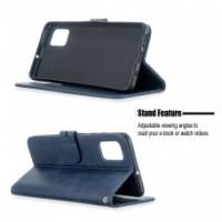 Θήκη Book Style με Βάση Στήριξης για Samsung (Galaxy S10 Lite/A91/M80S) -ΜΠΛΕ