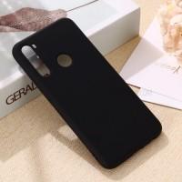 OEM Back Θήκη Σιλικόνης Για Samsung A21 Προστασία Κινητό -  Black