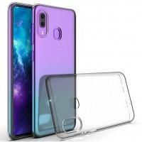 OEM Back Θήκη Σιλικόνης Σκληρη Για Samsung A40 Προστασία Κινητό - Διάφανο