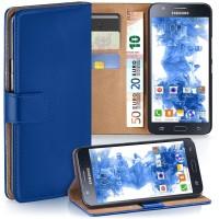 Θήκη Book Style με Βάση Στήριξης για Samsung (Galaxy j5 2015) - (ΜΠΛΕ)
