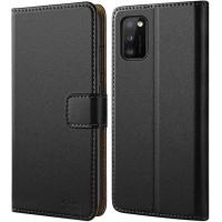 Θήκη Book Style με Βάση Στήριξης για Samsung (Galaxy A41) -Μαύρο