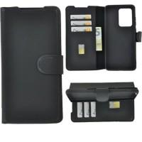 Θήκη Book Style με Βάση Στήριξης για Samsung (Galaxy S20 Ultra) -Μαύρο