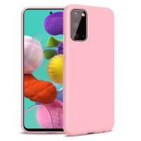 OEM Hard Back Cover Case Σκληρή Σιλικόνη Θήκη Για Samsung Galaxy A31 ΑΝΟΙΧΤΟ ΡΟΖΕ