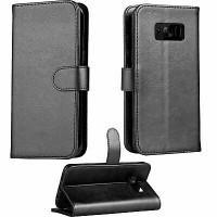 Θήκη Book Style με Βάση Στήριξης για Samsung (Galaxy S10LITE/S10E) (Μαύρο)