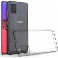OEM Back Θήκη Σιλικόνης Σκληρη  Για Samsung A51 Προστασία Κινητό Διάφανο