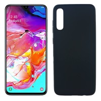 OEM Hard Back Cover Case Σκληρή Σιλικόνη Θήκη Για Samsung Galaxy A70 Blue