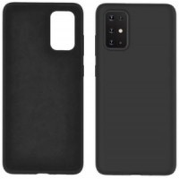 OEM Hard Back Cover Case Σκληρή Σιλικόνη Θήκη Για Samsung Galaxy A51 Black