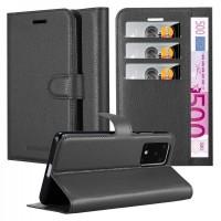 Θήκη Book Style με Βάση Στήριξης για Samsung (Galaxy S20) -Μαύρο