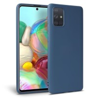 OEM Back Θήκη Σιλικόνης Για Samsung A51 Προστασία Κινητό -  Blue