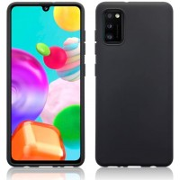 OEM Hard Back Cover Case Σκληρή Σιλικόνη Θήκη Για Samsung Galaxy A41 Black